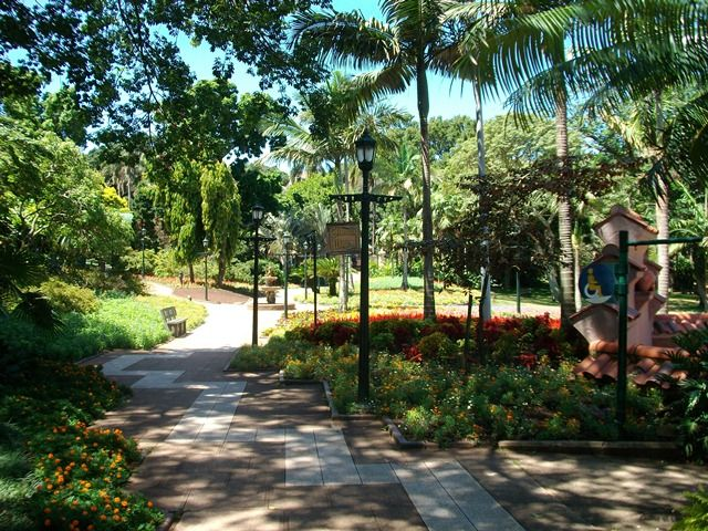 Mitchell Park Zoo - Durban. Many birthday parties held here for my family.