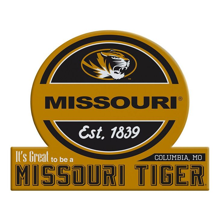 Missouri Tigers Tailgate Peel & Stick Decal, Multicolor