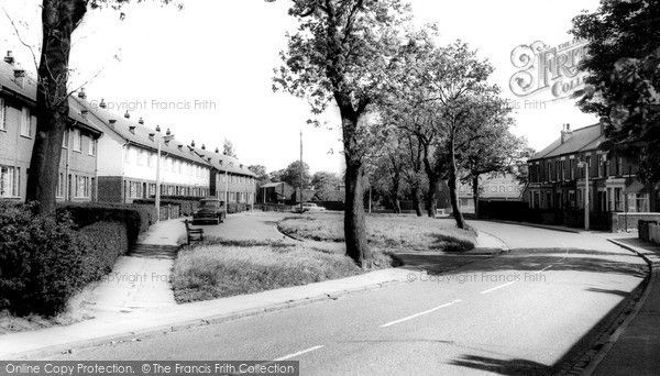 Widnes, Ditchfield Road c.1965, from Francis Frith