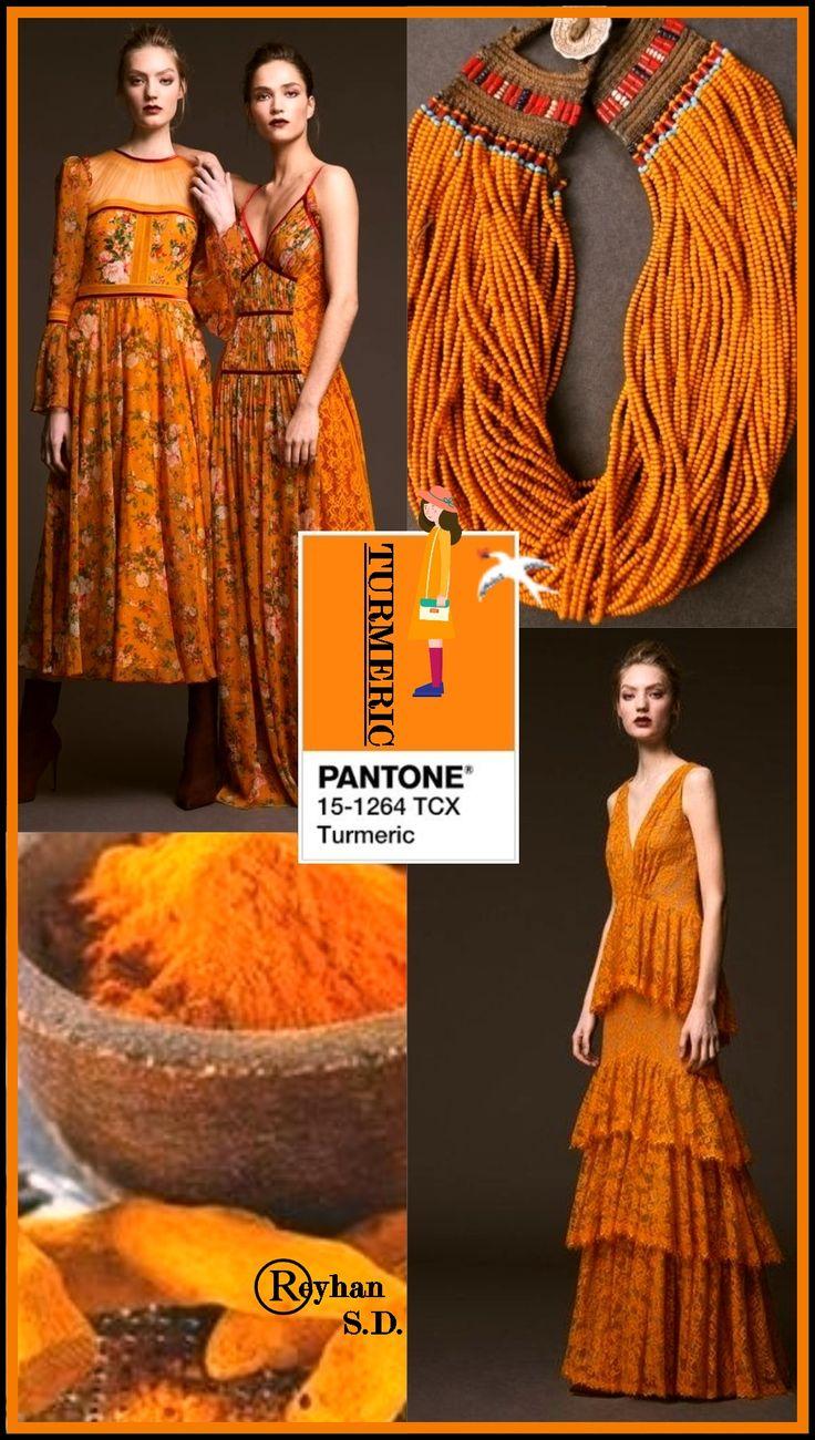 '' Turmeric Pantone Spring/ Summer 2019 Color '' by