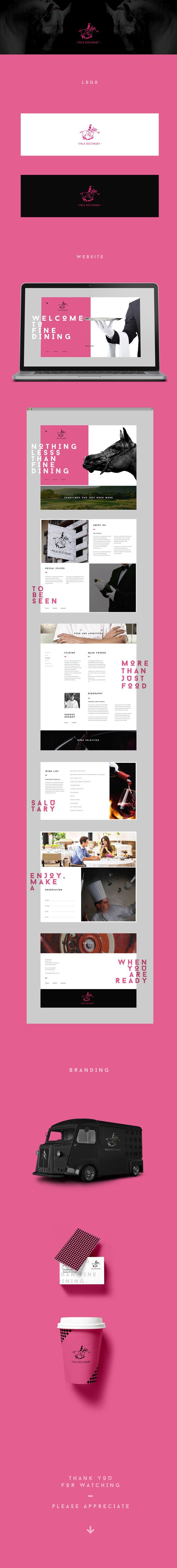 """Cool website design """"Polo Website"""" https://www.behance.net/gallery/28290587/Polo-Website"""