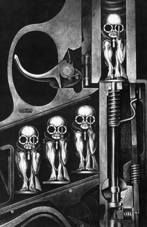 fer1972:    Birthmachine by H.R. Giger