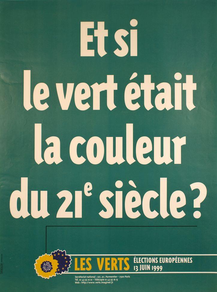 Affiche des Verts / ©Musée du Vivant - AgroParisTech