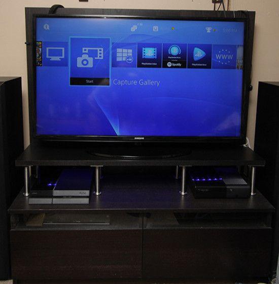 Adding an extra shelf to the IKEA Benno TV unit - IKEA Hackers