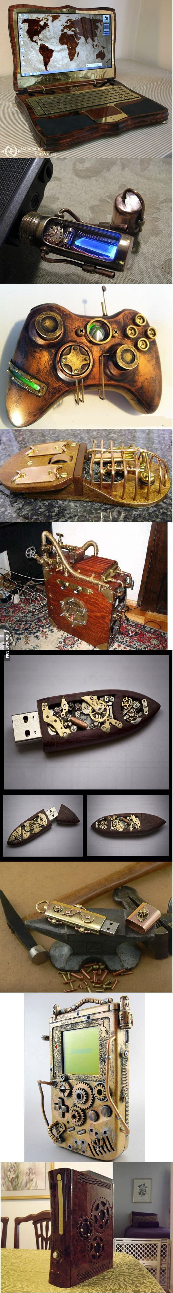 Steampunk gadgets - you know you want one