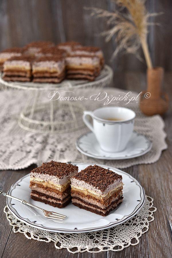 Kakaowe ciasto balowe