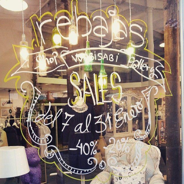 Rebajas #lettering #sale #shopping #sevilla