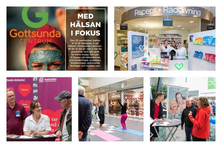 Vi ansvarade för Gottsunda Centrums hälsodag 2012