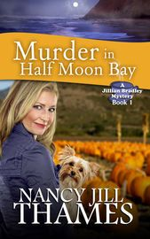 Murder in Half Moon Bay, Book 1   http://paperloveanddreams.com/book/586694012/murder-in-half-moon-bay-book-1   All Jillian Bradley wants is to spend a quiet weekend by the ocean and enjoy her afternoon tea. But a startling discovery draws her and garden club friends into solving a mystery that threatens her life and changes her future.The unlikely team helps the chief of police uncover a series of mysterious events that lead to solving several murders, both past and present.Could the…