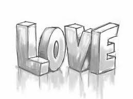 Výsledek obrázku pro graffiti sketch love
