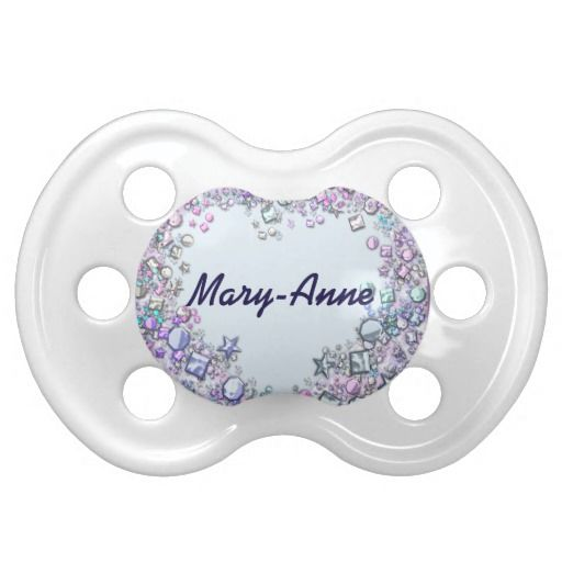 Personalised Heart Design Pacifier