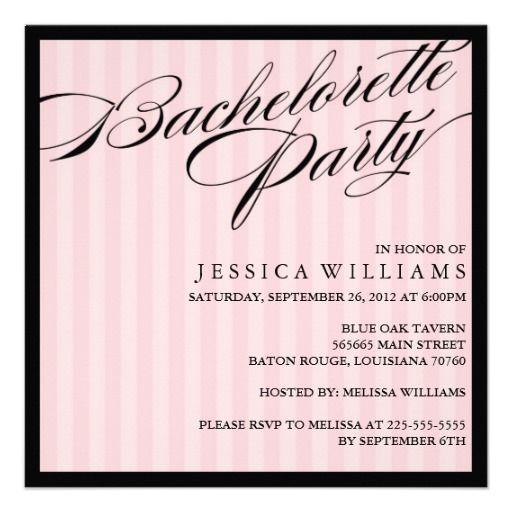22 best Bachelorette Party Invitation Templates images on – Online Bachelorette Party Invitations