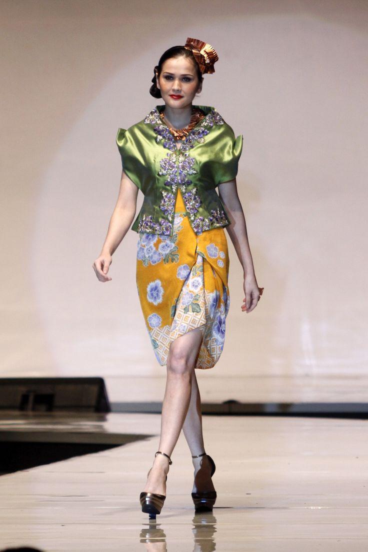 Sebastian Gunawan designed with Pekalongan batik