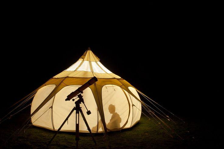 Camping Tiendeveen Drenthe met sterrentent