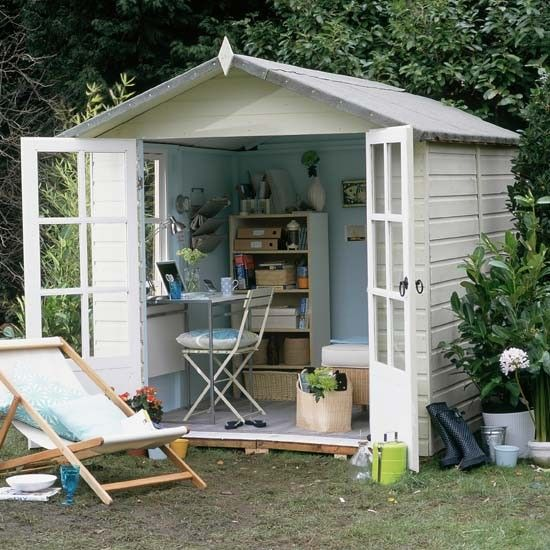 How to build a room in the garden