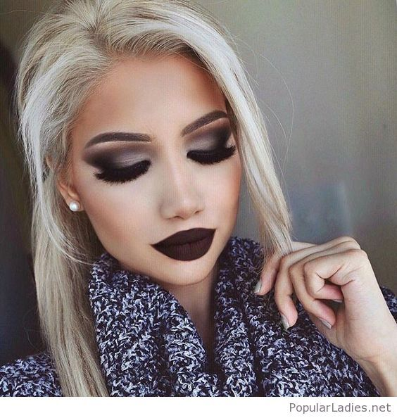 beautiful-new-year-makeup-inspiration-with-dark-lips