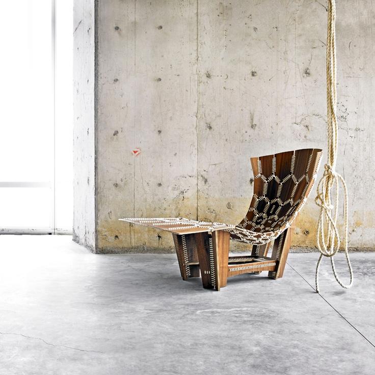 17 mejores ideas sobre Silla Tejida en Pinterest  Diseño de silla y