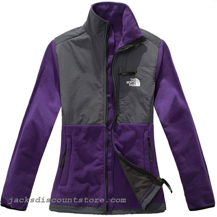 discount gift North Face Women Denali Jacket Purple for cheap