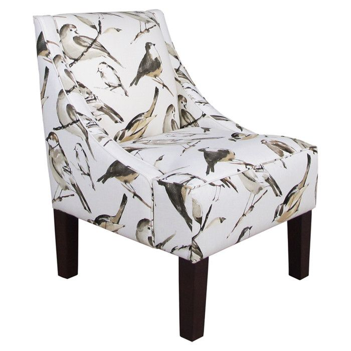 Bird Pring Accent Chair: 19 Best Birds Fabric Images On Pinterest