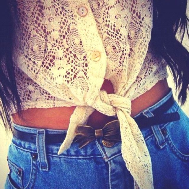AdorbsLace, Fashion, Style, Shirts, Clothing, Ties, Belts, High Waist Shorts, Dreams Closets