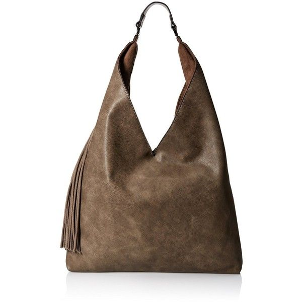 Steve Madden Bkomfyy Hobo Bag (585 CNY) ❤ liked on Polyvore featuring bags, handbags, shoulder bags, handbags purses, steve madden handbags, brown shoulder bag, hobo handbags and man bag