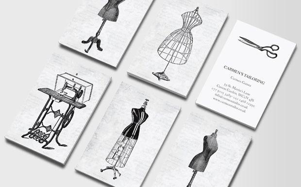 Idea for mums dressmaker-business card