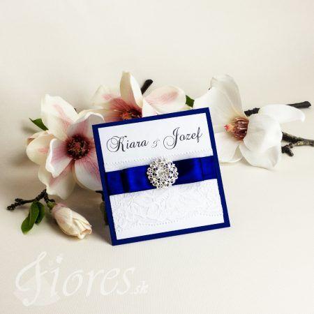 Elegantné svadobné oznámenie s nádychom luxusu a sviežosti. Oznámenie je štvorcového tvaru a otvárateľné smerom hore. #weddingcard #wedding  #invitation #fiores #fioressk