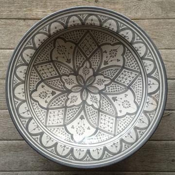 Visa detaljer för Fat Traditionell Grå 40cm