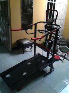 Toko Treadmill Purwokerto | Melayani COD | 0857-4263-5556: Treadmil Manual 004 + Alat pijat Anti gores manual...