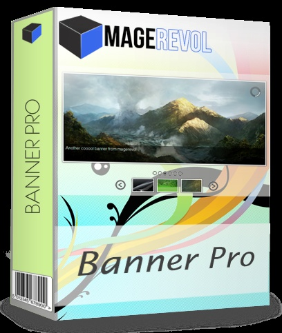 Banner Pro extension for Magento has over 100 customizable properties that can be set when the Slider is instantiated. Banner Pro allows you to easily create and edit slides. There are 12 slider skins to choose from plus 13 scroll bar skins. Add captions with simple text or HTML text. You can also define a custom size and position for each caption. Banner Pro integrates the popular prettyPhoto script to allow you to easily add lightbox content. You can choose between 6 lightbox themes.