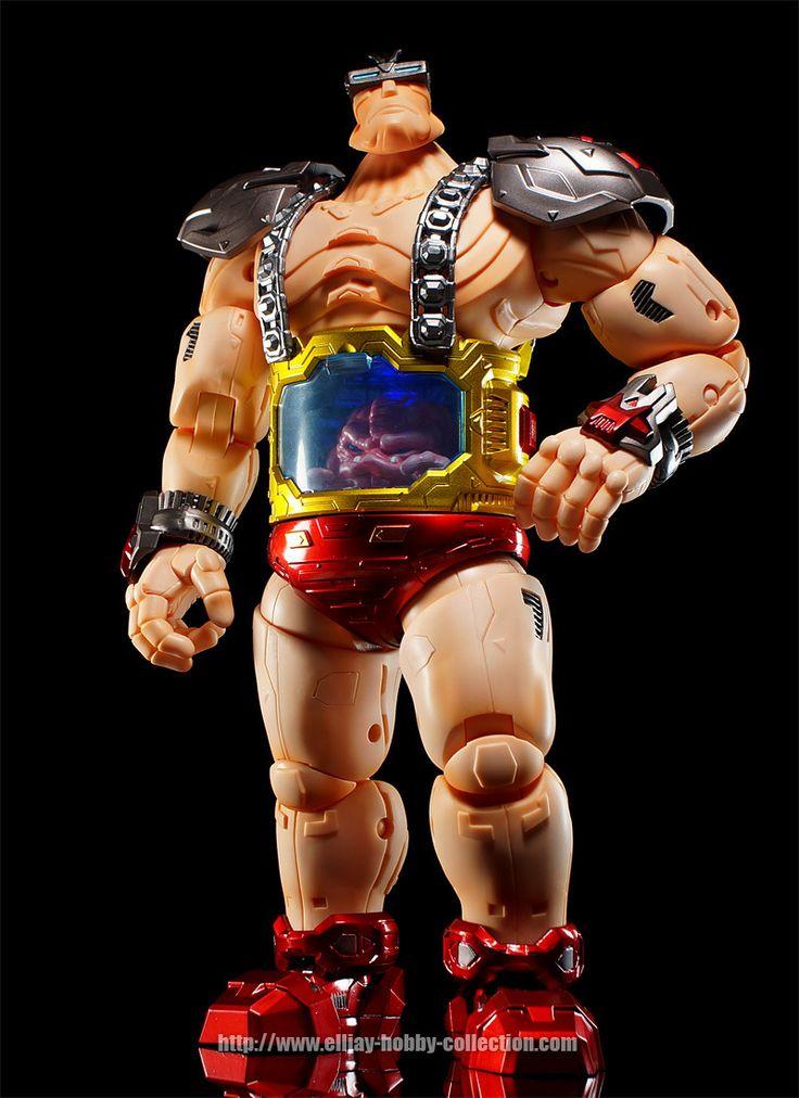 "Gokin 10"" TMNT Metal Big Boss Krang"