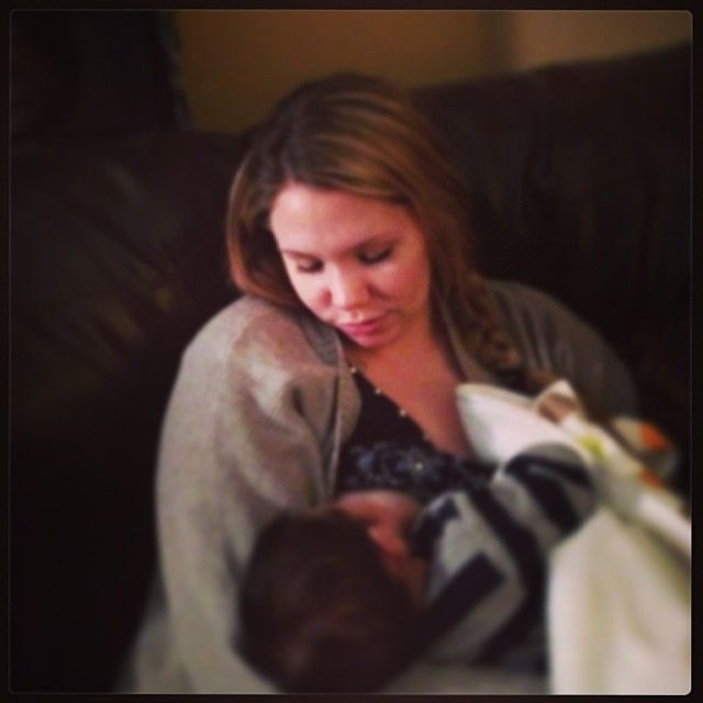 Kailyn Lowry's Son Lincoln Is 1 Month Old — See How Cute He Is! (PHOTO)