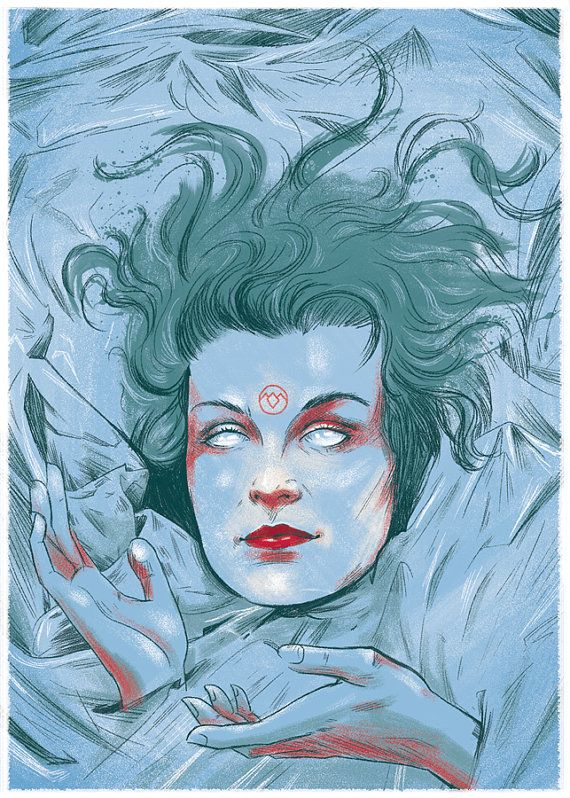 Twin Peaks : Who Killed Laura Palmer  5x7 postcard by cryssycheung