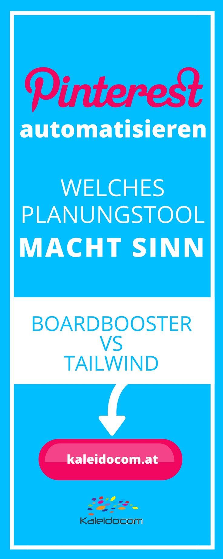 Boardbooster und Tailwind sind die bekanntesten Tools, wenn es um das Automatisieren von Pinterest geht. Welches sich lohnt, zeigen wir hier.