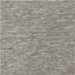 Telio Capri Linen Jersey Knit Grey