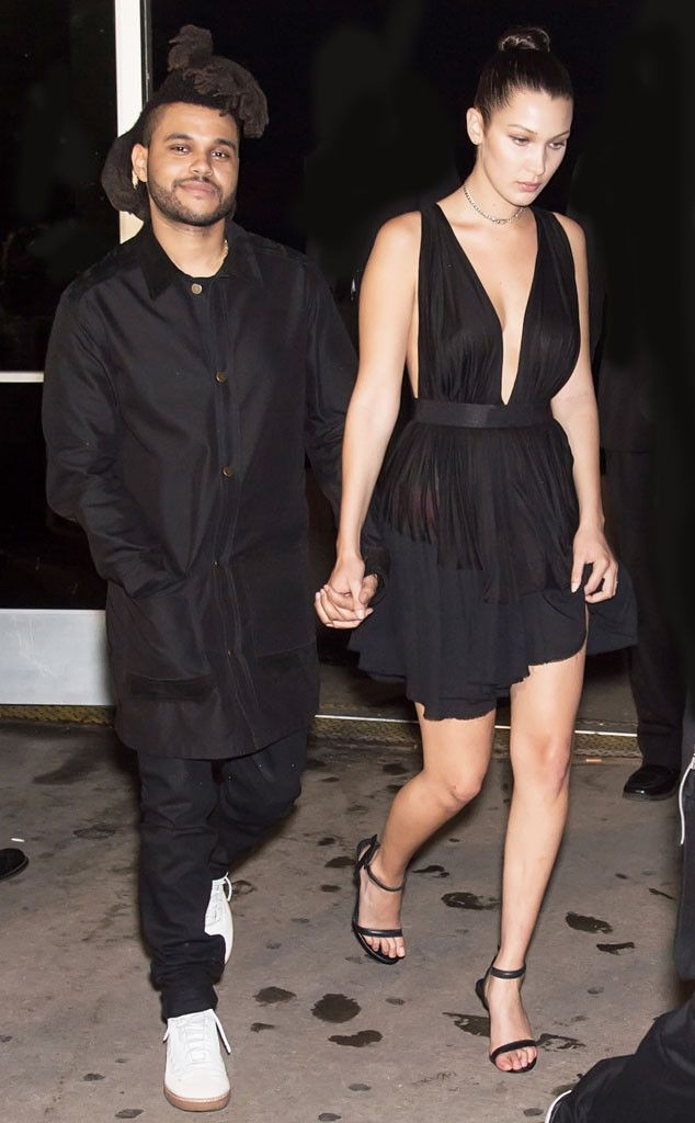weeknd dating bella hadid Singer the weeknd and model bella hadid, who had split in november 2016, sparked the dating rumours once again as they were seen spending time together, hereafter months of speculation.