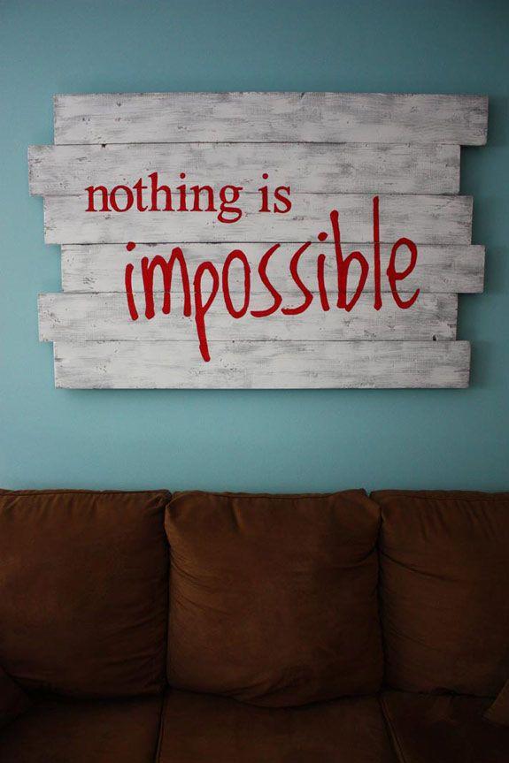 Nada es imposible..