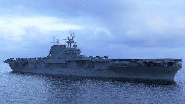 USS Enterprise CV-6 3D Model .max .c4d .obj .3ds .fbx .lwo .stl @3DExport.com by likolus