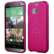 Forro HTC One M8 Cruzerlite Bugdroid Circuit Rosa $ 37.800,00