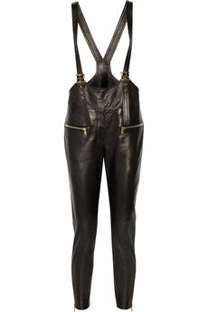 Emilio Pucci Leather overalls | THE OUTNET