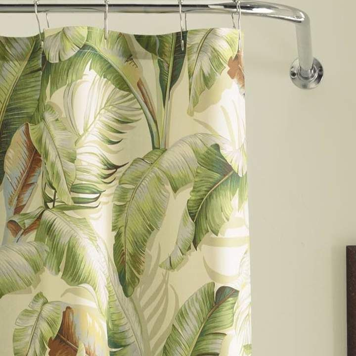 Tommy Bahama Home Palmiers Cotton Single Shower Curtain In 2020