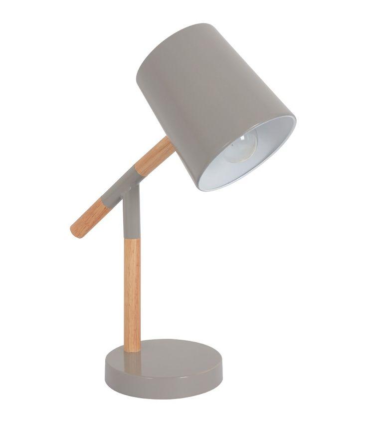 Neva 1 Light Table Lamp in Stone/Natural