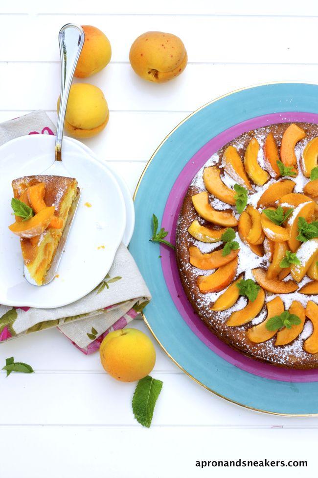Apricot & Mascarpone Cake