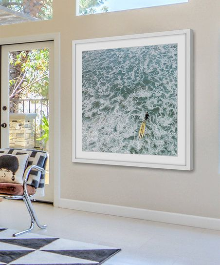 Marmont Hill Choppy Waters Framed Wall Art | zulily
