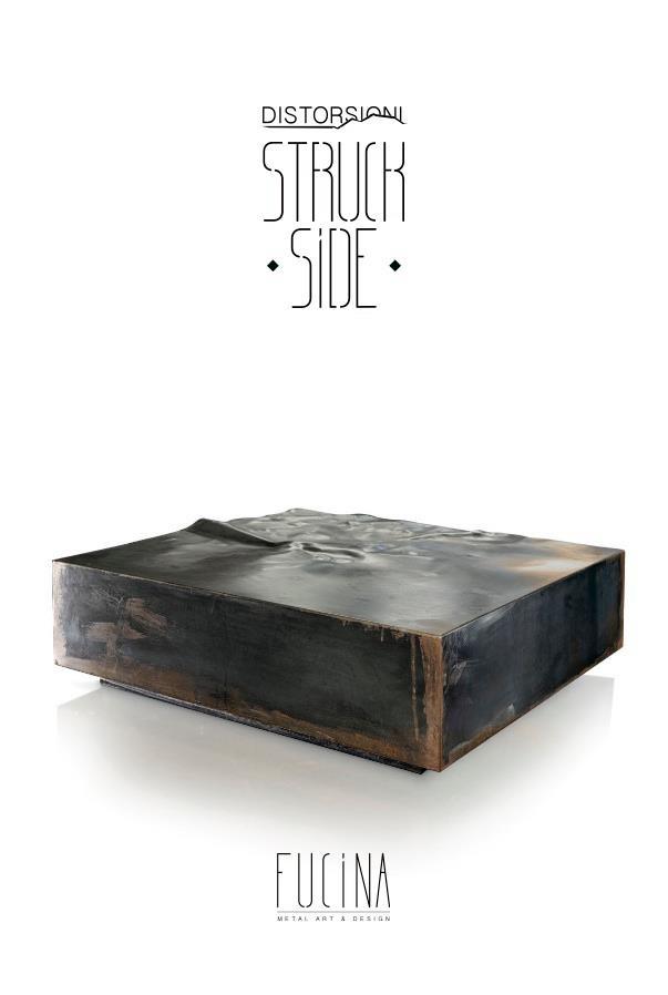 Coffee #table STRUCK SIDE