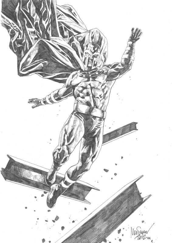 Magneto by Mico Suayan
