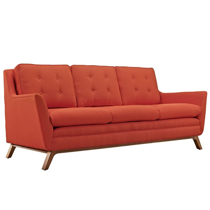 modway furniture modern beguile fabric sofa eei1800
