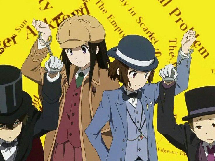 Kimi no matsuwaru Mystery (≧∇≦)/♥♡ #hyouka #anime