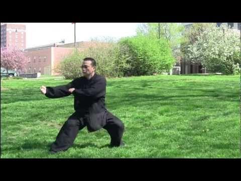 螳螂拳Praying Mantis Fist Kung Fu performed by Master Arthur Du