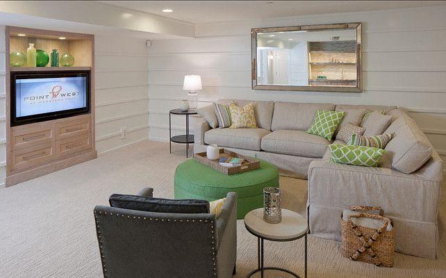 Family room family room design ideas basement family room - Basement family room ideas ...
